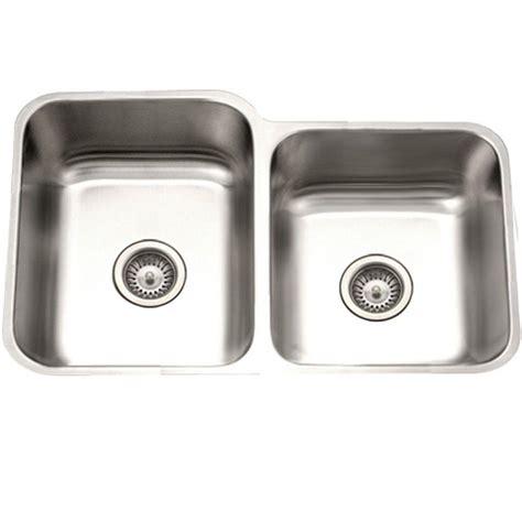 houzer sinks home depot houzer eston series undermount stainless steel 31 in 60