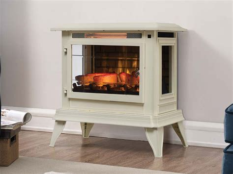duraflame electric fireplace white