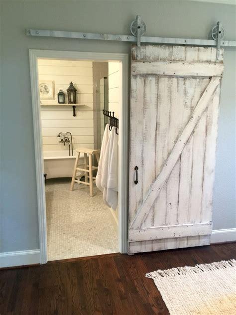 shabby chic door shabby chic z sliding barn door white barn by doorsbydeborahanne bathroom remodel