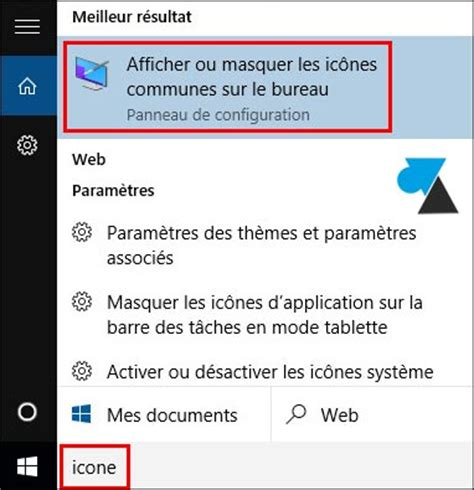 windows 10 afficher l ic 244 ne ordinateur ce pc sur le