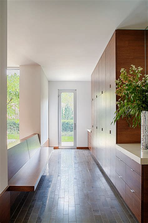 modern mud room modern entry chicago  michael