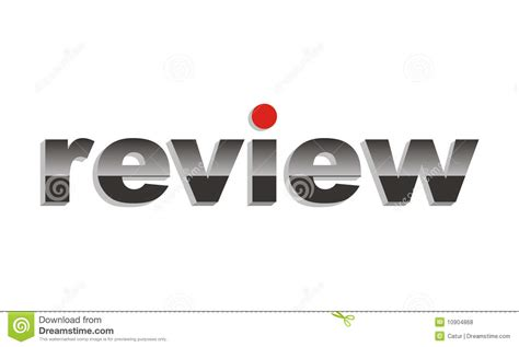 Vector Review Metal Text Royalty Free Stock Photos - Image ...
