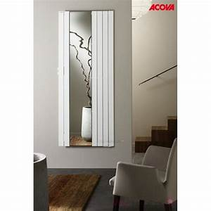 Radiateur Inertie Fluide 1000w : radiateur lectrique acova fassane miroir premium 1000w ~ Edinachiropracticcenter.com Idées de Décoration