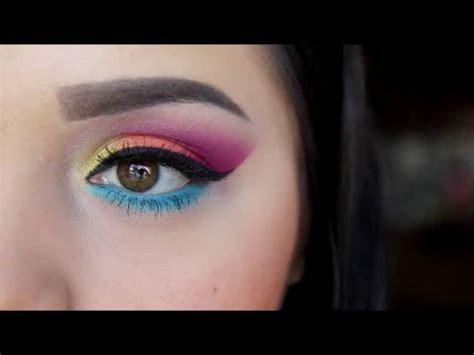 bright colorful eyeshadow  youtube