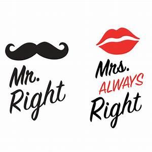 Mrs Always Right : mr right mrs always right kvadrat skodelice 600 600 diy pinterest ~ Eleganceandgraceweddings.com Haus und Dekorationen