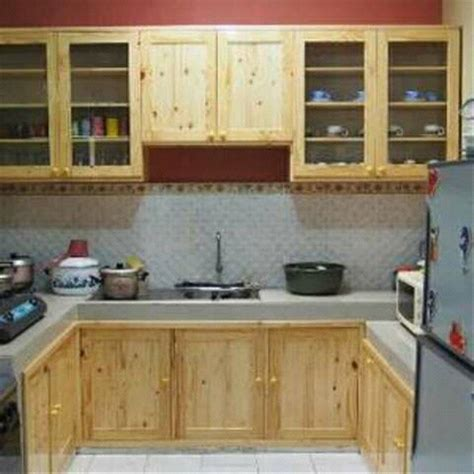 jual kitchen set murah jati belanda  lapak amanah