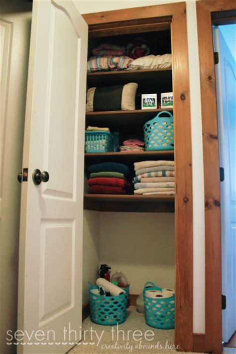 6 linen closet organization inspiration made simple