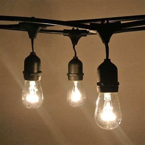 vintage festoon string lights