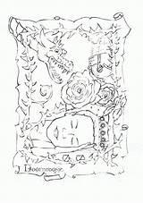 Coloring Park Pages Amusement Coloringpages1001 Printable sketch template