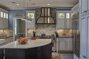 Builder grade kitchen converted into top of the line for Best brand of paint for kitchen cabinets with wall street bull art