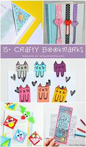 Creative DIY Bookmarks for Kids to Make - Artsy Momma