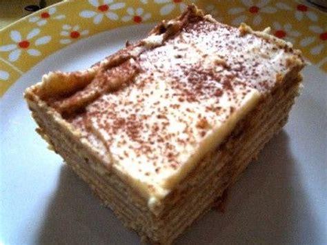 cuisine rapide lu le gâteau aux biscuits une recette gourmande