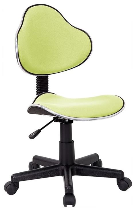 contemporary desk chair w adjustable seat height