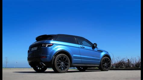 range rover dark blue land rover range rover evoque black blue edition drive2