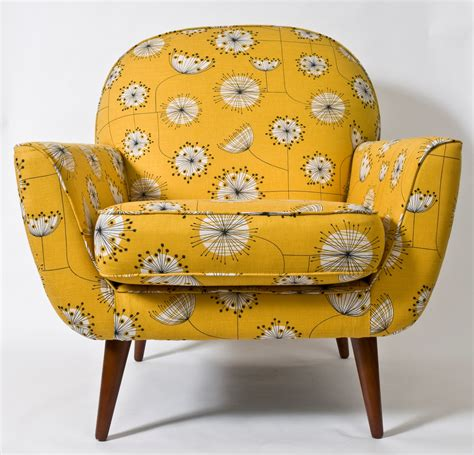 chair upholstery fabric uk yellow retro chair home shopping