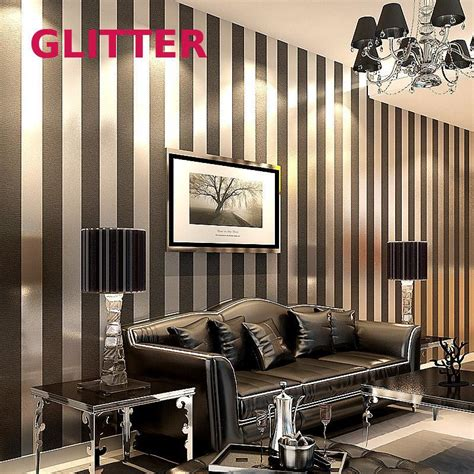 wallpaper modern papel de parede roll  paper black