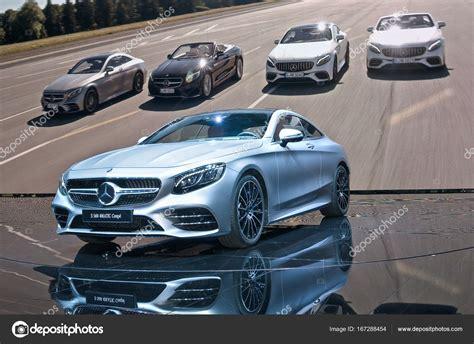 Mercedesbenz S560 4matic Coupe — Foto Editoriale Stock