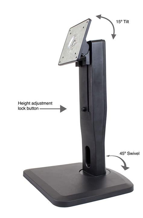 vesa desk mount stand nixeus vesa mount monitor stand tilt swivel pivot and