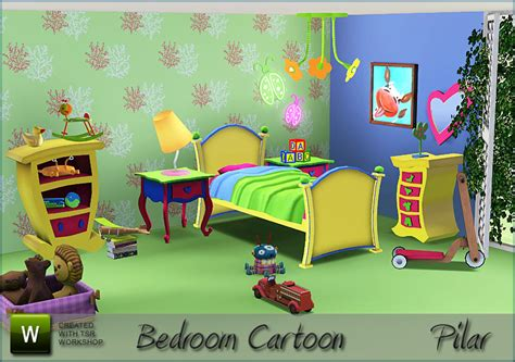 bedroom cartoon simcontroles
