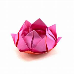 How To Make An Origami Lotus Flower - 1