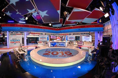 abc news  election headquarters set design gallery