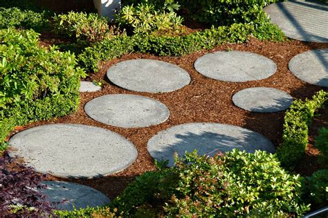 Stepping Stones Garden by How To Use Rocks To Make Your Garden Design More