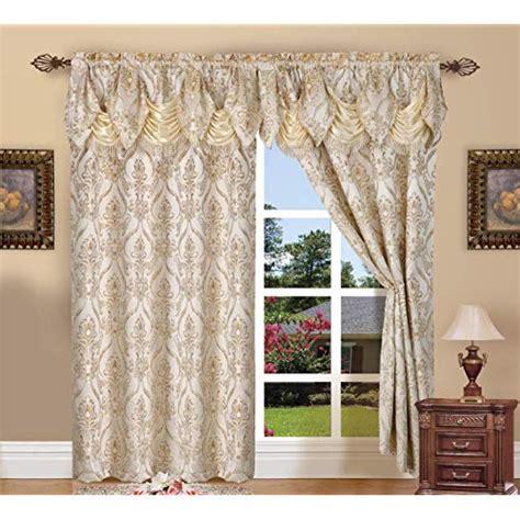 living room curtains  valance amazoncom