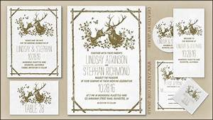 read more deer head antlers rustic and romantic wedding With wedding invitation template deer