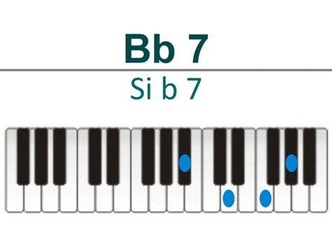 si鑒e piano accords piano si bémol e b ou a