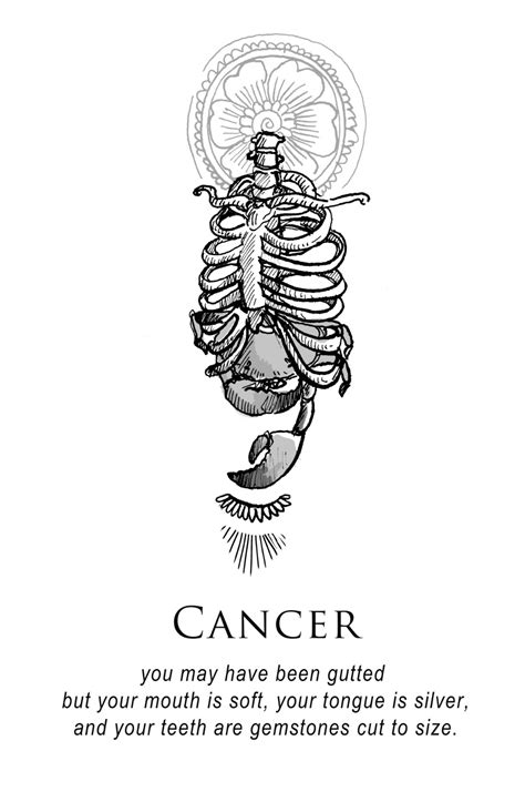Cancer Zodiac Tattoo Quotes | 89 Quotes