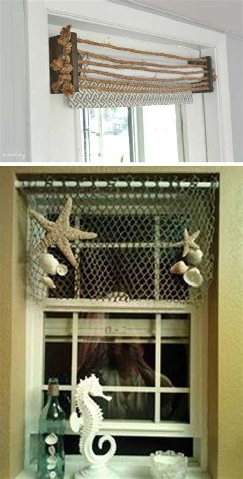 cheap  easy diy window valance ideas