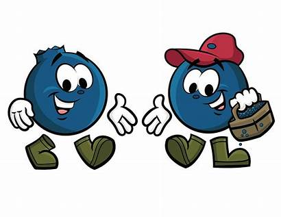 Blueberry Character Cartoons Pick Cann Cutest Cannibal