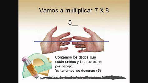 Truco Para Aprender Las Tablas Multiplicar A Partir Del 6