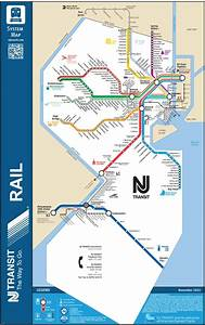 Transit Maps  Official Map  New Jersey Transit Rail System