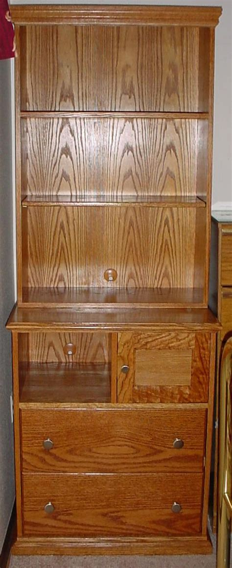 Dresser And Bookcase Combo by Lakota Custom Designs Custom Solid Wood Furniture All