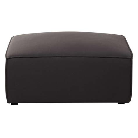 canapé gris taupe pouf de canapé modulable en coton gris taupé colombus