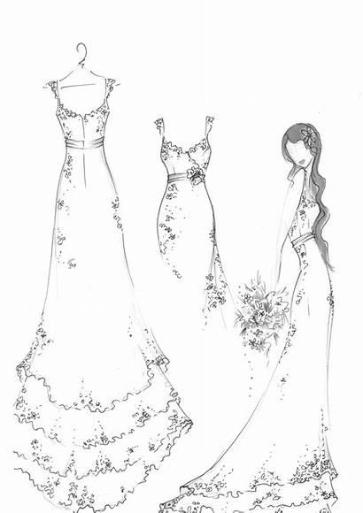 Dresses Lace Sketch Pretty Sketches Nz Anna