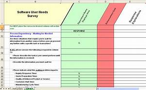 fine needs assessment survey template photos example With business process questionnaire template