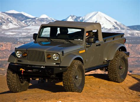 Jeep M715 Concept by Jeep Gladiator Concept Page 5 Jeepforum