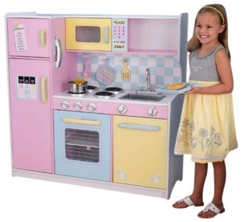 Red And White Kitchens Ideas - kidkraft play kitchen sets for kids and play ideas comfy abode