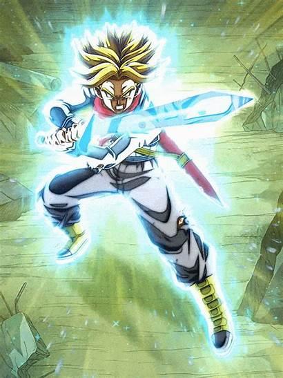 Trunks Saiyan Super Future Db Fandom Dreams