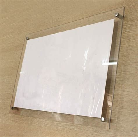 country wall decor ideas gt4166 a4 wall mounted transparent clear acrylic picture
