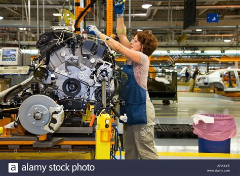 Chrysler Sterling Sting Plant by Chrysler Sterling Heights Assembly Plant Stock Photo