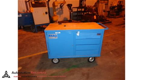 faro accs0164 rolling cart for faro arms and trackers