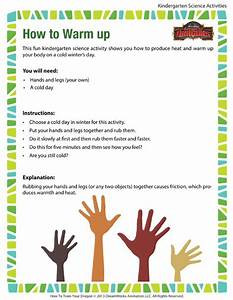 How To Warm Up View  U2013 Printable Science Activity For