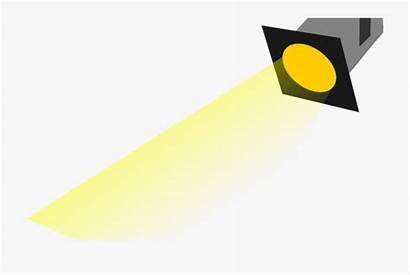 Spotlight Clipart Clip Lights Cartoon Banner Bulb