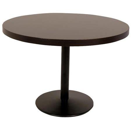 chaise et table de restaurant metro fr table de restaurant ronde durolight wengé et