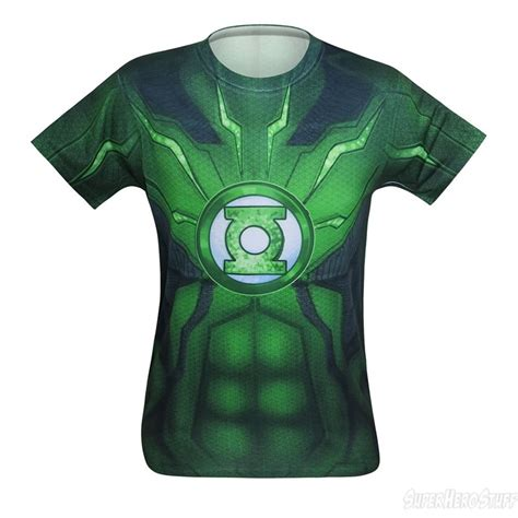 green lantern suit up sublimated costume t shirt