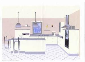 conception dune cuisine cuisines du plessis fabricant With disposition cuisine en l