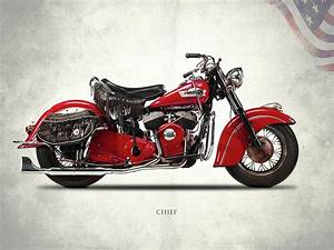 Indian Chief 1950 Photograph by Mark Rogan